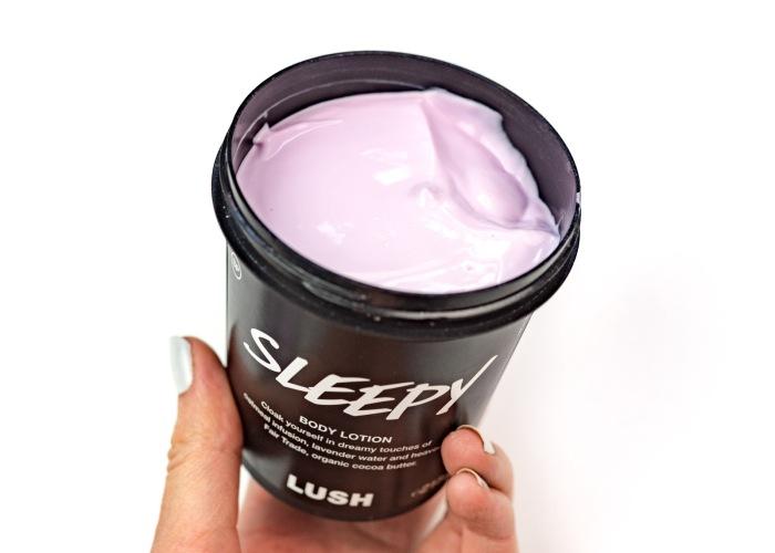 Nighttime Routine Sleepy Lotion Lush
